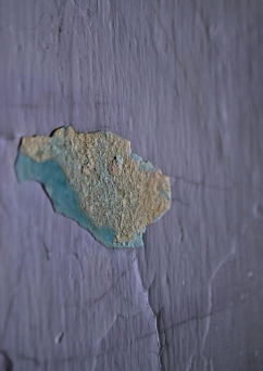 plaster beneath