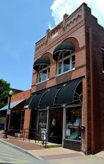 cool building in Bentonville