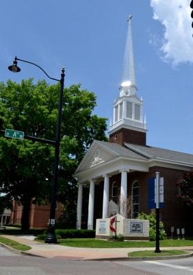 cool church in bentonville