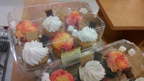 Bonus photo of smore cupcakes at Clarinda Hy-Vee