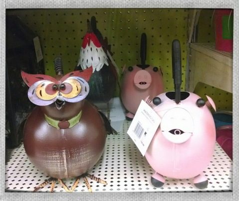 These are watering cans. Who'd have guessed.