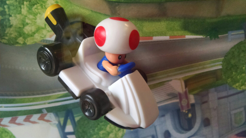I want this!! It's Toad from Mario Kart - this is who i always play