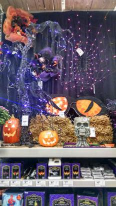 Monday: Halloween Display