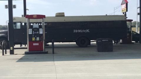 Hemlock's bus