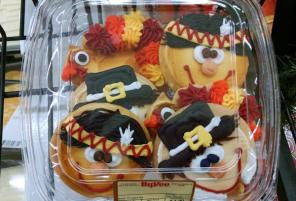 Thanksgiving cookies at hy-vee