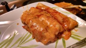 Enchiladas. Something that actaully cooks well in the electric skillet.