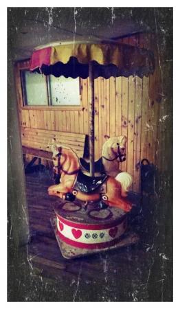 Old carousel
