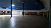 The rink. Still has the original woodwork.