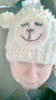 Me in the sheep hat