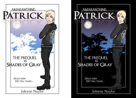 the original cover concepts that no longer match the series lol!