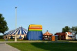 the circus in Griswold, Iowa