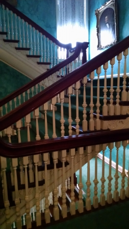 Second story stairs