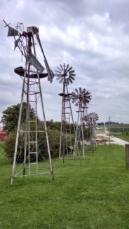 They have a lot of windmills