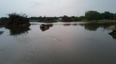 seriously, it looks like a lake