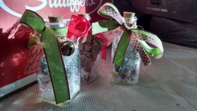Christmas in a bottle