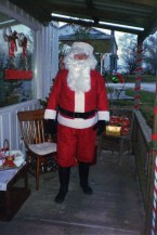 Father in Law as Santa