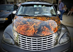 Ghost Rider flames
