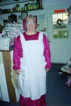 Shyla plays Mrs. Claus