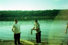 Proof dad once caught a fish