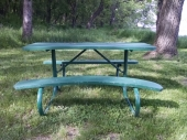 Warped bench