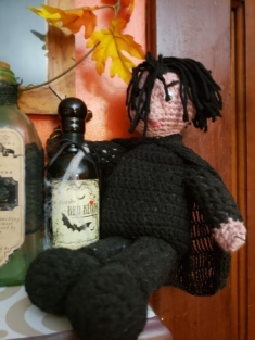 My snape doll made by DM Yates