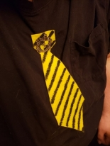 Hubby is Hufflepuff